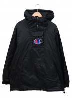 SUPREME×Champion(シュプリーム×チャンピオン)の古着「アノラックパーカー」|ブラック