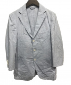 Belvest(ベルベスト)の古着「アンコンジャケット」|スカイブルー