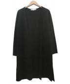 UNTITLED(アンタイトル)の古着「ミラノリブロングカーディガン」|ブラック
