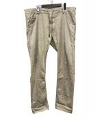 DIESEL(ディーゼル)の古着「ジョガーパンツ」|ベージュ