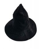 Engineered Garments(エンジニアドガーメンツ)の古着「スナフキンハット」|ブラック