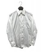 ()の古着「チンストラップシャツ」 ホワイト