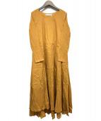 MARIHA(マリハ)の古着「花園のドレス」|イエロー