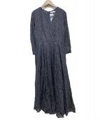 MARIHA(マリハ)の古着「モドモアゼルのドレス」|ネイビー