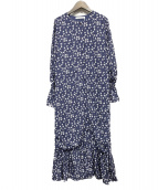 MARIHA(マリハ)の古着「マドモアゼルのコート」|ネイビー