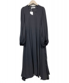 MARIHA(マリハ)の古着「秋の星影のドレス」|ブラック