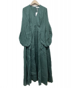 MARIHA(マリハ)の古着「少女の祈りのドレス」|グリーン
