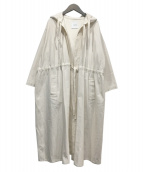 CLANE(クラネ)の古着「20SSオーバーモッズコート」 ホワイト
