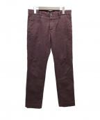 INCOTEX(インコテックス)の古着「スリムフィットパンツ」|パープル