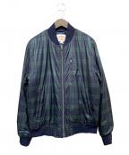 BROOKS BROTHERS Red Fleece(ブルックスブラザーズレッドフリース)の古着「中綿ジャケット」|グリーン