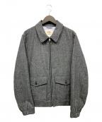 BROOKS BROTHERS Red Fleece(ブルックスブラザーズレッドフリース)の古着「ウールジャケット」|グレー