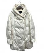 ARMANI JEANS(アルマーニジーンズ)の古着「ダウンコート」|ホワイト