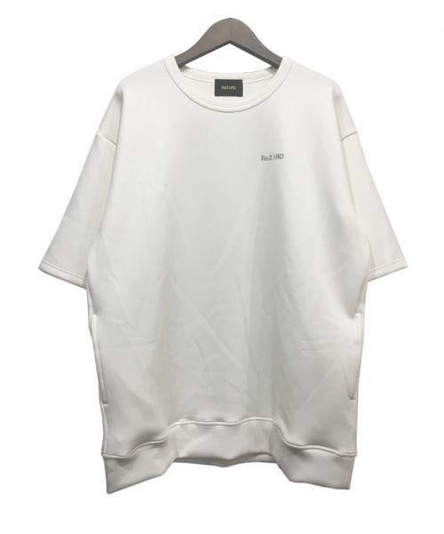 ReZARD(リザード)ReZARD (リザード) ロゴハーフスリーブスウェット ホワイト サイズ:Mの古着・服飾アイテム