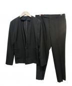 UNIVERSAL LANGUAGE(ユニバーサルランゲージ)の古着「セットアップスーツ」 ブラック