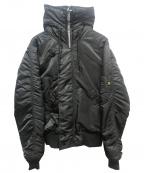 ALPHA()の古着「N-3Bタイプコート」|ブラック