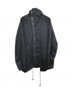syte(サイト)の古着「フーデッドコート」|ブラック
