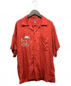 東洋エンタープライズ(トウヨウエンタープライズ)の古着「アロハシャツ」|レッド