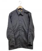 Manastash(マナスタッシュ)の古着「PAITEX ステンカラーコート」 ブラック