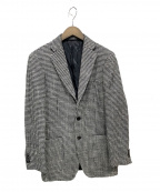 UNIVERSAL LANGUAGE(ユニバーサルランゲージ)の古着「ウールジャケット」 ブラック×ホワイト