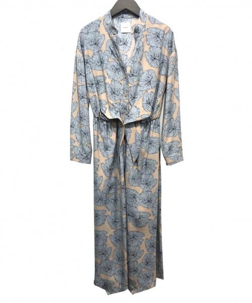 Ameri(アメリ)AMERI (アメリ) ブラウスワンピース スカイブルー サイズ:表記無しの古着・服飾アイテム