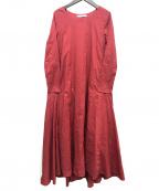 MARIHA()の古着「ブラウスワンピース」|レッド