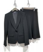 DKNY(ダナキャランニューヨーク)の古着「スカートスーツ」|ブラック