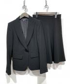 DKNY(ダナキャランニューヨーク)の古着「スカートスーツ」 ブラック