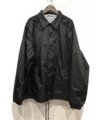 COMME des GARCONS(コムデギャルソン)の古着「コーチジャケット」|ブラック