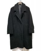 JOURNAL STANDARD(ジャーナルスタンダード)の古着「ボアビッグカラーコート」|ブラック