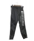 ()の古着「TRACK PANTS」 ブラック