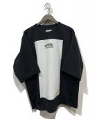 SHAREEF(シャリーフ)の古着「MILAN RIB SQUARE S/S」|ブラック
