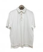 CABAN(キャバン)の古着「コットンポロTシャツ」 ホワイト