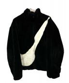 NIKE(ナイキ)の古着「WMNS FAUX FUR JACKET」|ブラック