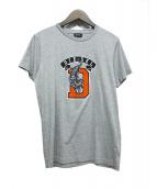 DIESEL(ディーゼル)の古着「タイガープリントtシャツ」|グレー