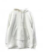adidas(アディダス)の古着「プルオーバーパーカー」|ホワイト