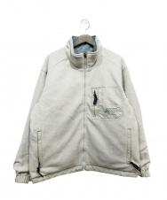 NIKE ACG (ナイキエージーシー) リバーシブルジャケット ホワイト サイズ:M 秋物
