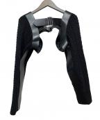 noir kei ninomiya(ノワール ケイ ニノミヤ)の古着「Buckle Sweater」|ブラック