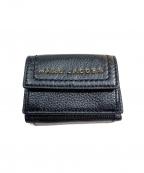 MARC JACOBS()の古着「3つ折り財布」|ブラック