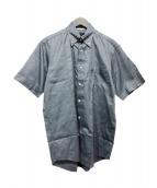 ()の古着「ボタンダウンシャツ」|グレー