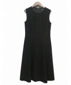 M-PREMIER(エムプルミエ)の古着「ノースリーブワンピース」 ブラック