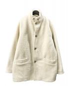 ()の古着「フリースジャケット」|アイボリー