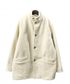 BEAMS(ビームス)の古着「フリースジャケット」|アイボリー