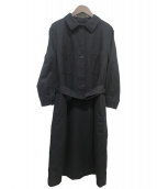 ()の古着「ベルト付きワンピース」|ブラック