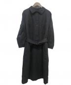 MHL()の古着「ベルト付きワンピース」|ブラック