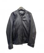 Luis(ルイス)の古着「シープスキンレザージャケット」|ブラック