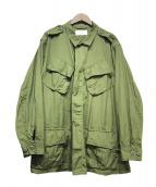 US ARMY(ユーエスアーミー)の古着「60sジャングルファティーグジャケット2nd」|オリーブ