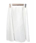 QUEENS COURT(クイーンズコート)の古着「サーキュラースカート」|ホワイト