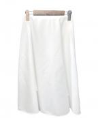 QUEENS COURT(クイーンズコート)の古着「サーキュラースカート」 ホワイト