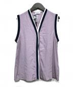 MAX&Co.(マックスアンドコー)の古着「シルクノースリーブブラウス」|ピンク