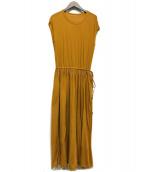Demi-Luxe Beams(デミルクス ビームス)の古着「ノースリーブワンピース」|ベージュ